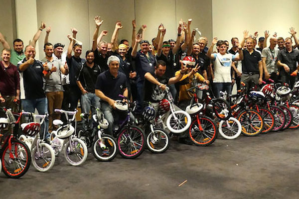 Bike Brigade - CSR/Charitable Team Building photo